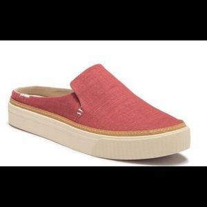 Toms Sunrise slip-on sneakers size 7